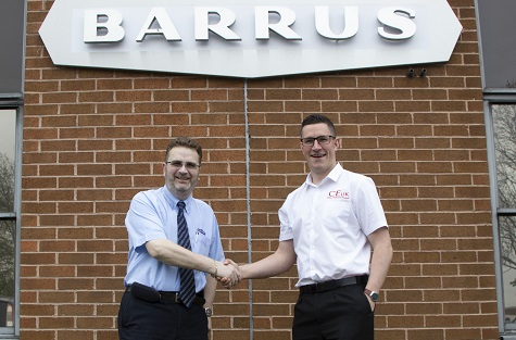 BARRUS FORMS PARTNERSHIP WITH CEUK