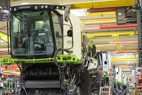 CLAAS REPORT RECORD SALES