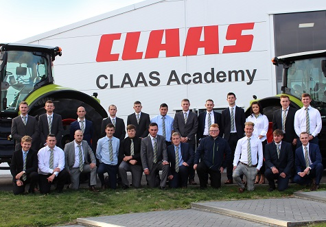 RECORD GRADUATION FOR CLAAS APPRENTICES